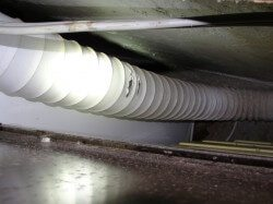Burning Dryer Transition Ducts