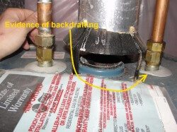 Water Heater Backdrafting, Part 1 of 2: Why it Matters and What to Look For