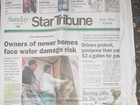 Star Tribune Article from 6/18/2000 featuring Barry Eliason