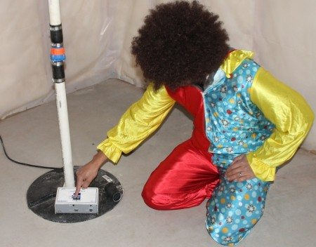 Radon Testing Clowns