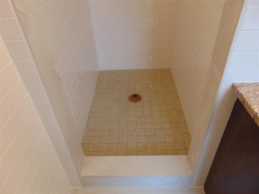 How to flood test a tiled shower startribune shower dam dailygadgetfo Choice Image