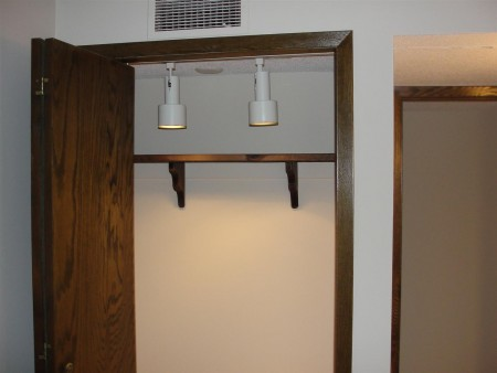 Electrical - improper closet lights