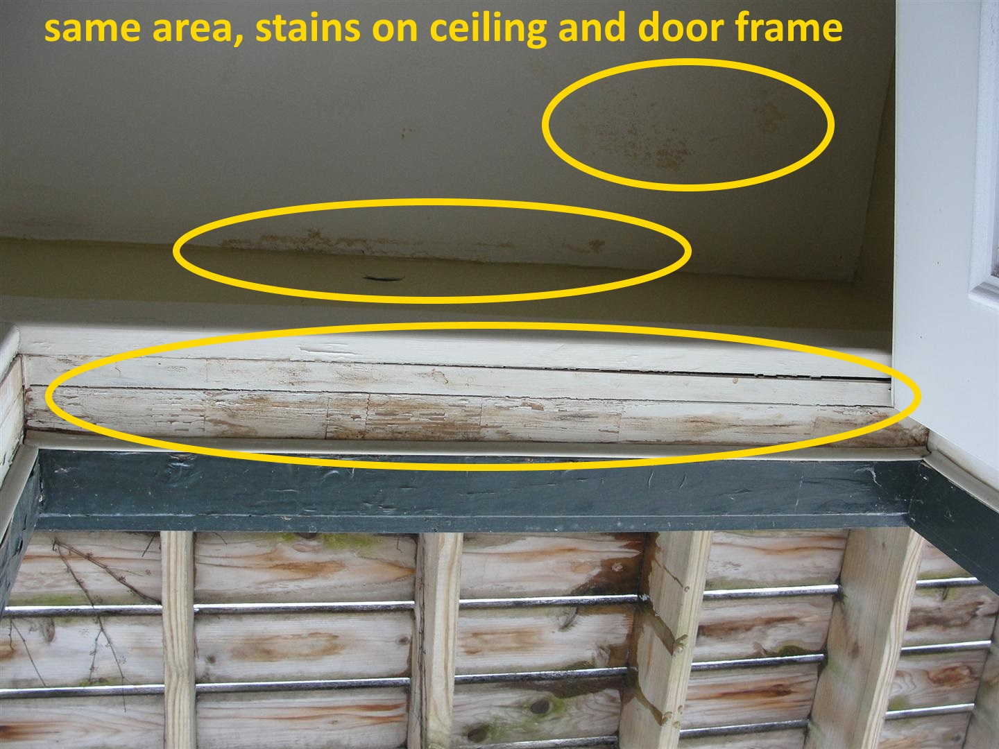 Skipping Home Inspection For A Condo Think Again Based On These Overheated Electrical Wiring Exterior Stains At Ceiling
