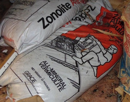 New information about asbestos and vermiculite attic insulation