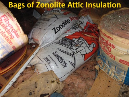 Zonolite Attic Insulation