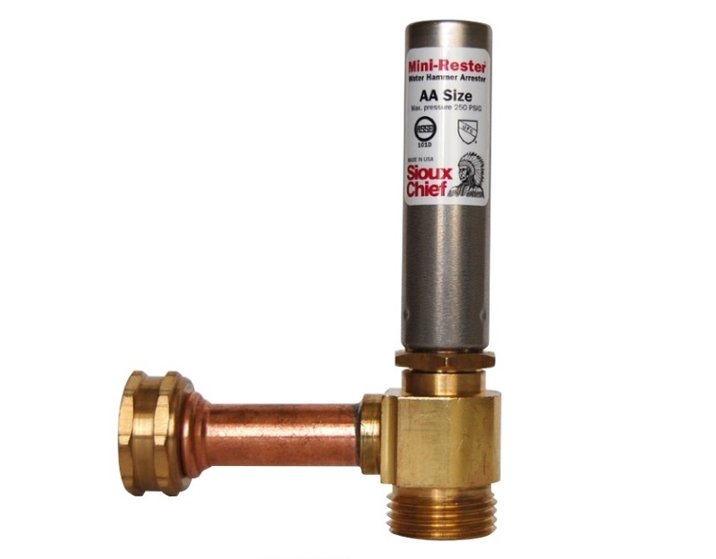 Water Hammer Arresters Are Now Required In Minnesota