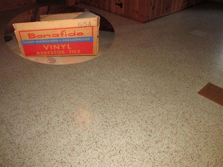 Bonafide Vinyl Asbestos Tile