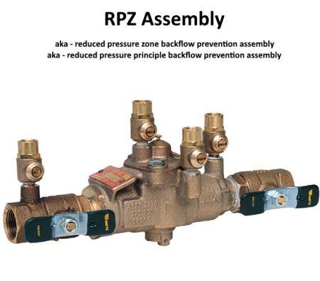 RPZ Assembly