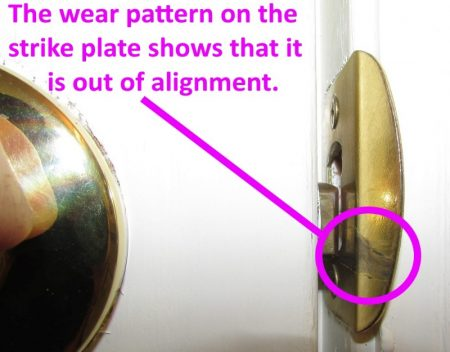 Door repair: how to fix a door that doesn't latch