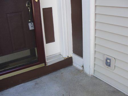 front door rot