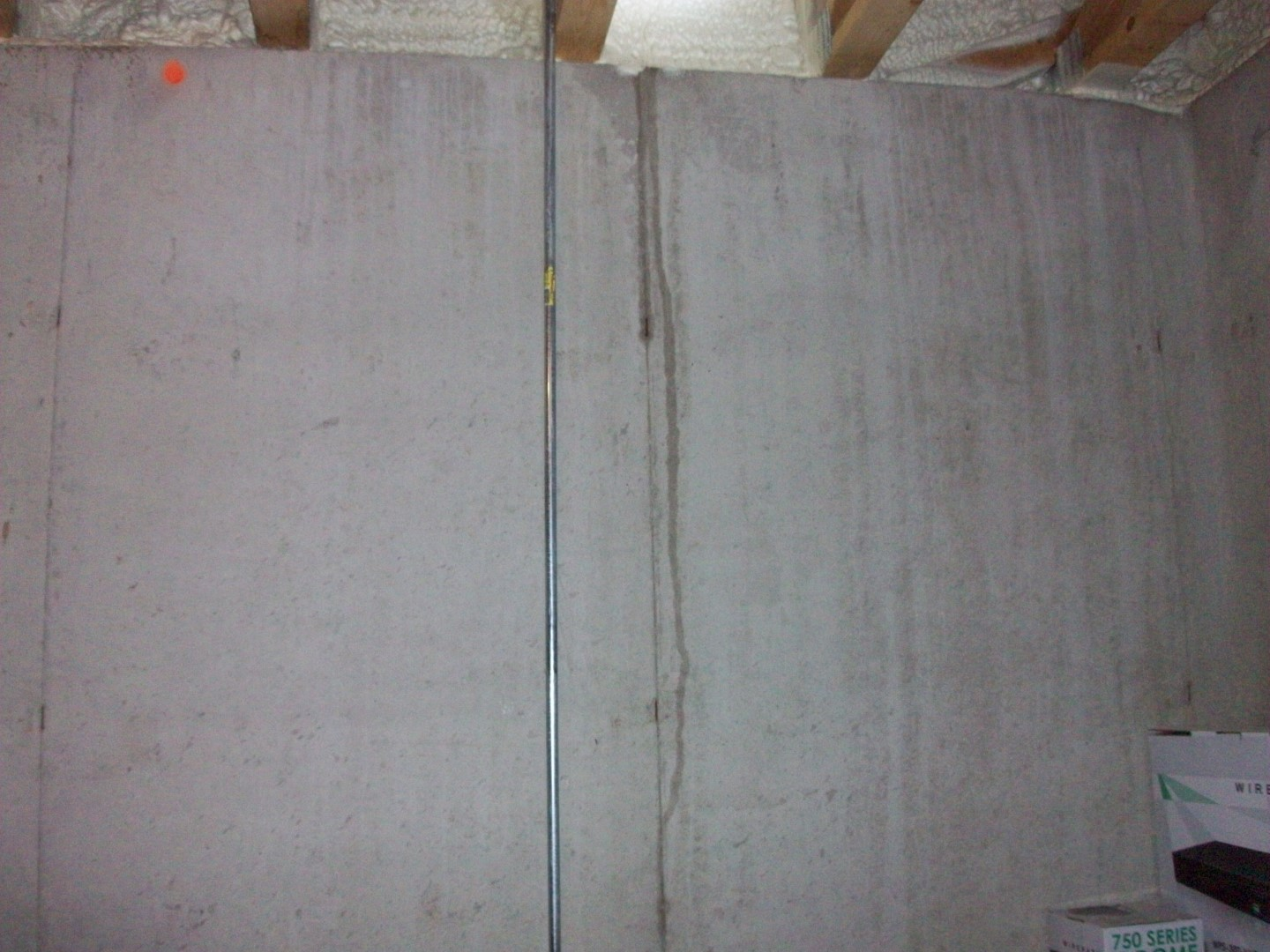 Bathroom Leaking To Floor Below : Photos from new construction inspections part vi