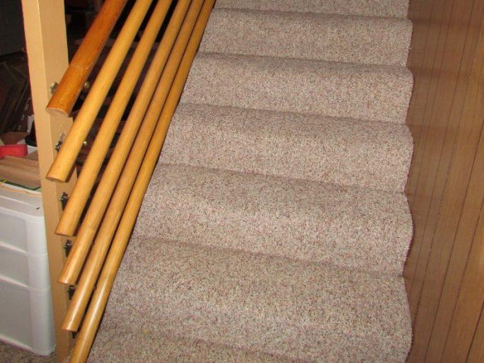 Six handrails