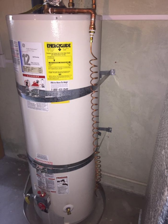 Water heater with crazy T&P Discharge