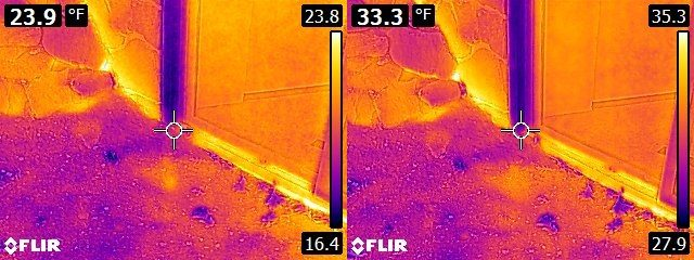 FLIR E6 vs. E8 House exterior 4