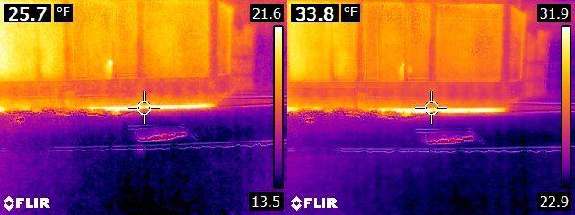 FLIR E6 vs. E8 house exterior 5
