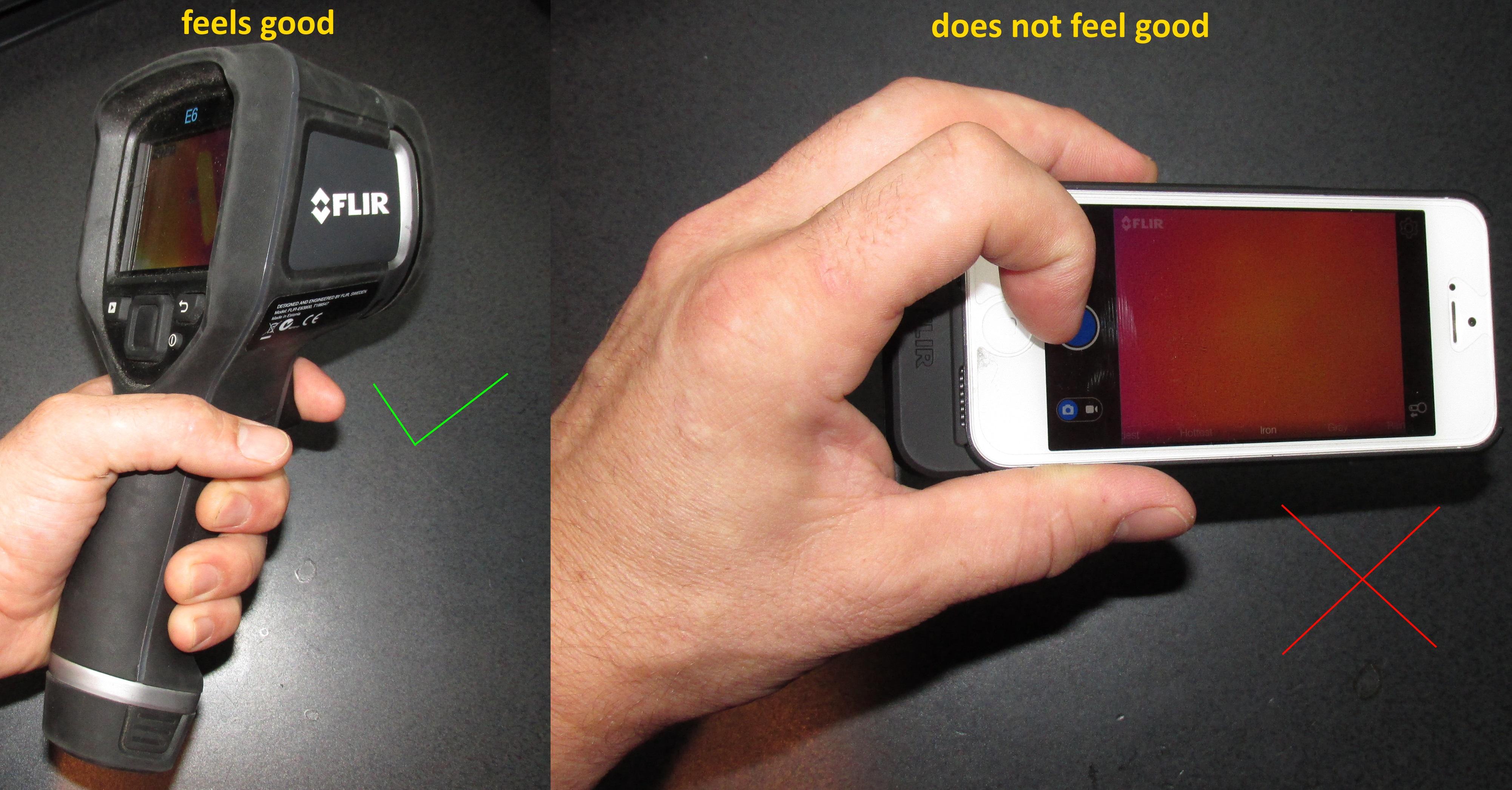FLIR E6: the best infrared camera for home inspectors | Star