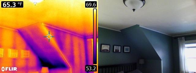 Infrared insulation problem