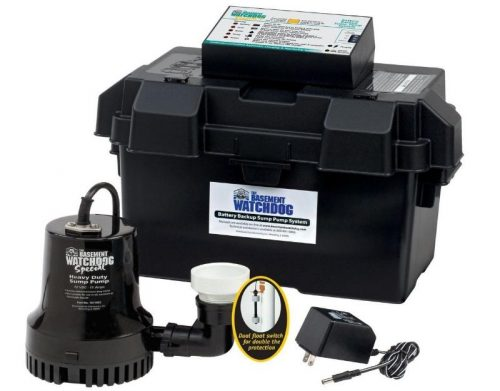 Backup sump pumps