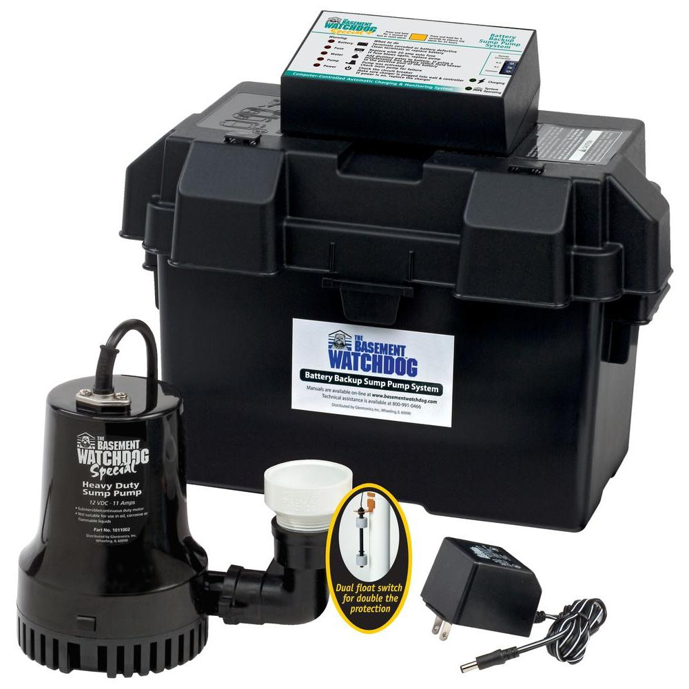Elegant Basement Sump Pump Backup Systems