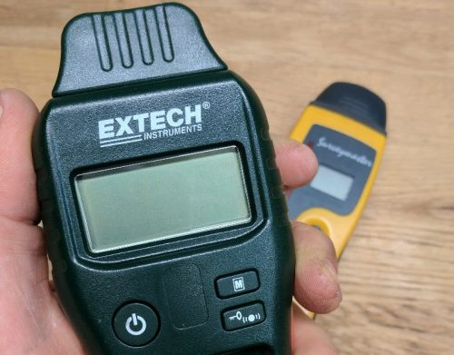 Product review: Extech MO55 moisture meter