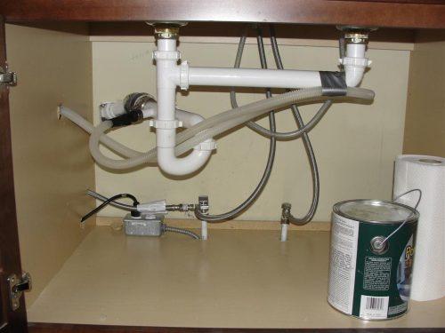 Dishwasher Drain