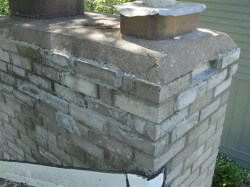Hack chimney repair