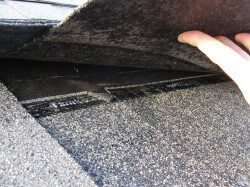 Roofs - loose shingles