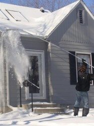 How to prevent ice dams from the exterior