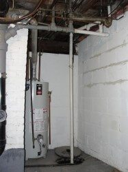 Sump Pumps shouldn't discharge into the sanitary sewer