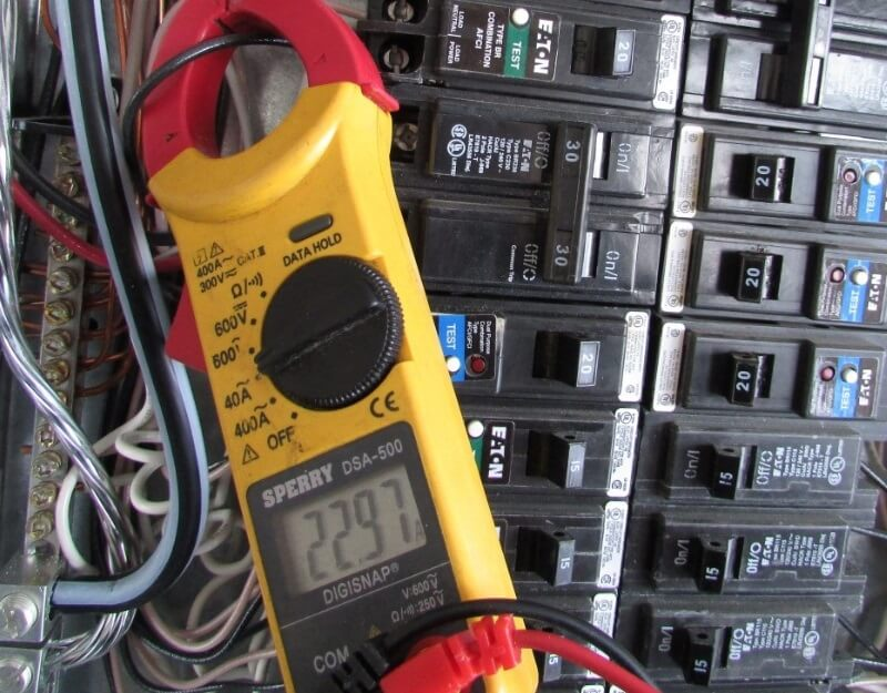 Using An Infrared Camera To Find An Overloaded Circuit