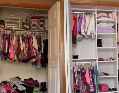 Two closet makeover tips