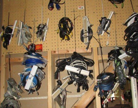 How to organize spare cords