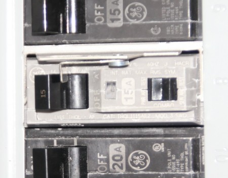 Nuisance tripping at AFCI circuit breakers
