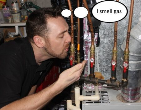 I smell gas cover
