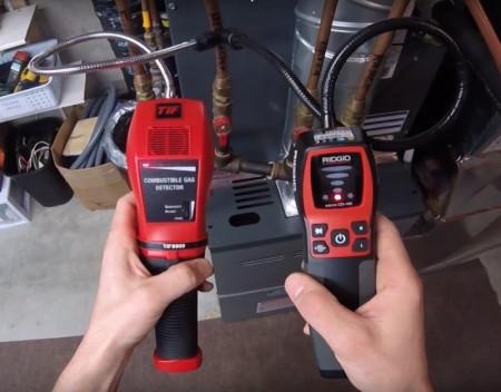 Gas sniffer comparison cover