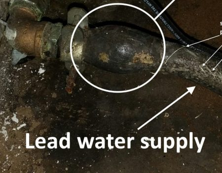lead water lines