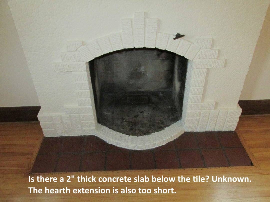 fireplace hearth extension rules structure tech home inspections rh structuretech1 com