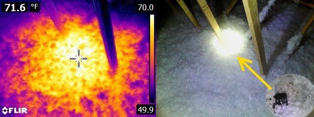 Infrared missing bath fan duct2