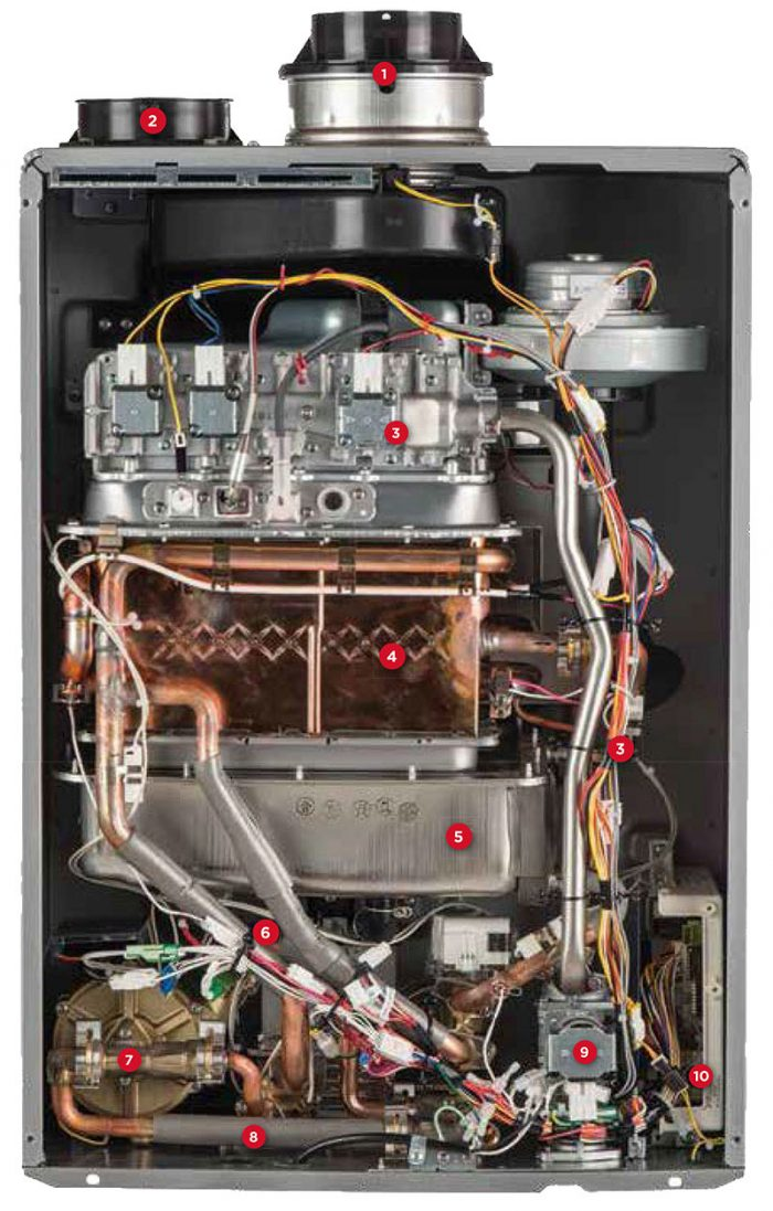 Bosch Tankless Water Heater Parts Replacement