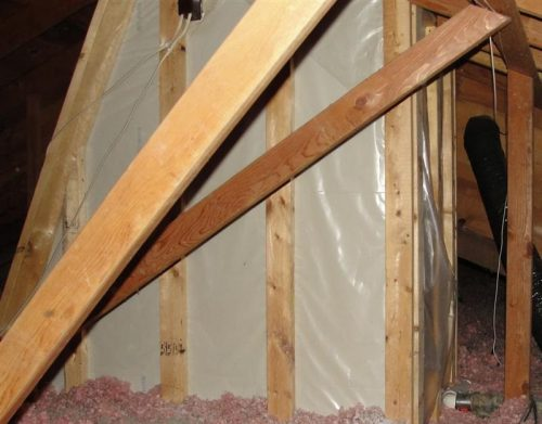 Skylight shaft insulation