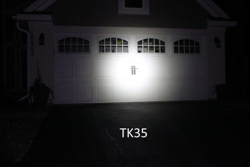TK35 against garage