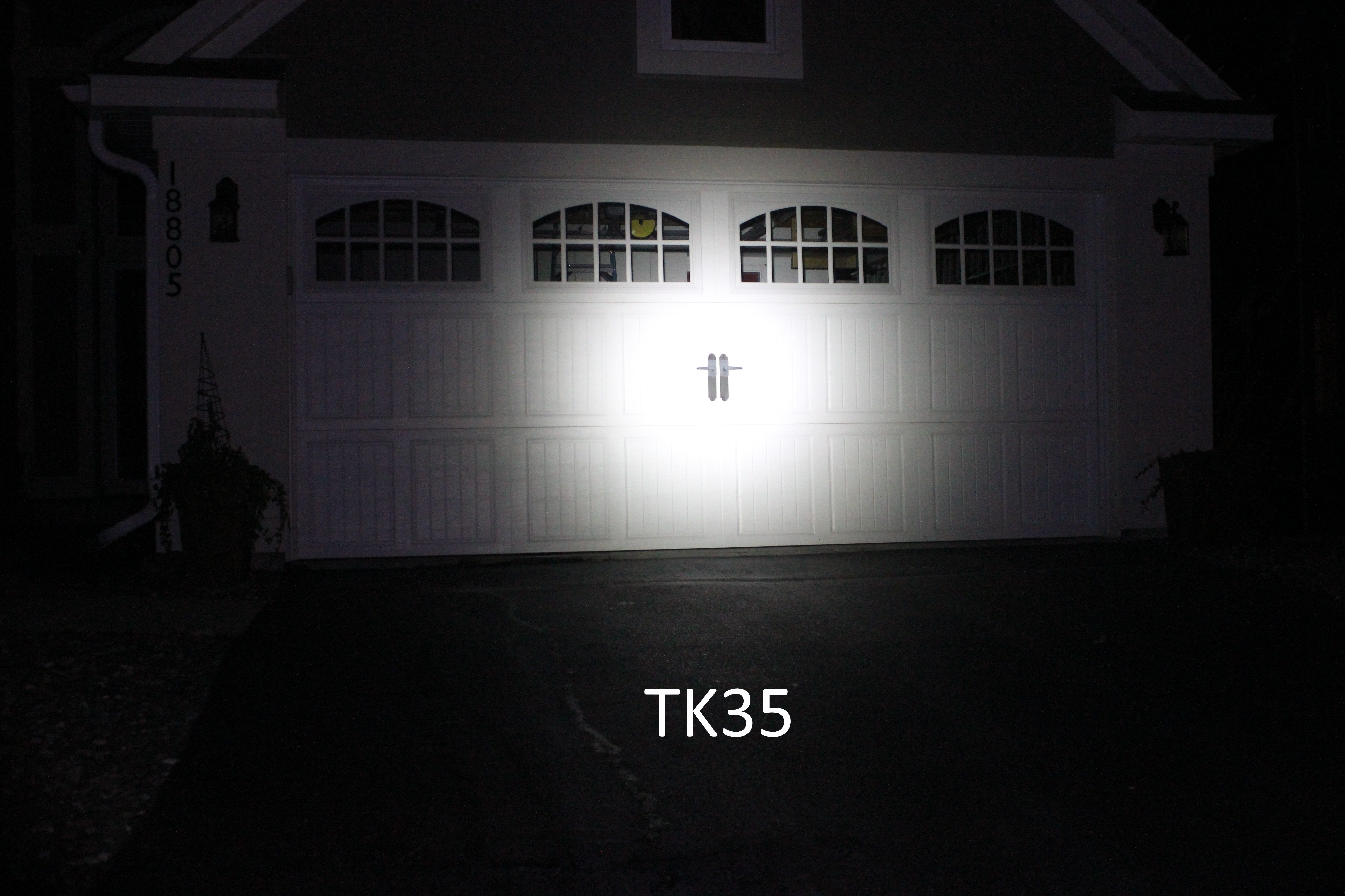 For High Power Settings I Compared Images On The Highest Setting Between TK35 And TK35UE First