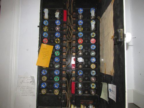 huge fuse panel