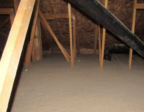 Attic insulation types