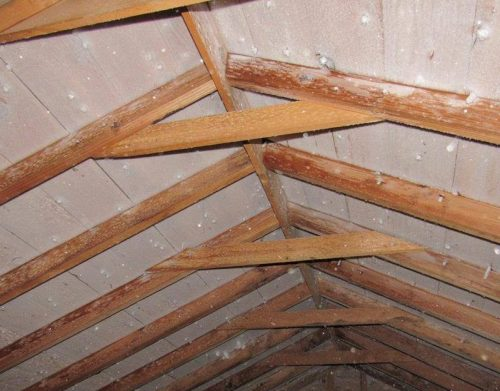 Frost in attics: why it's there and how to fix it