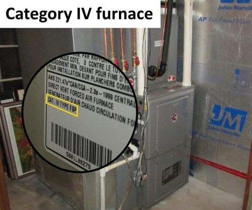 Category IV appliance
