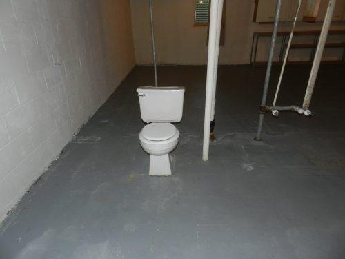 Lone Toilet