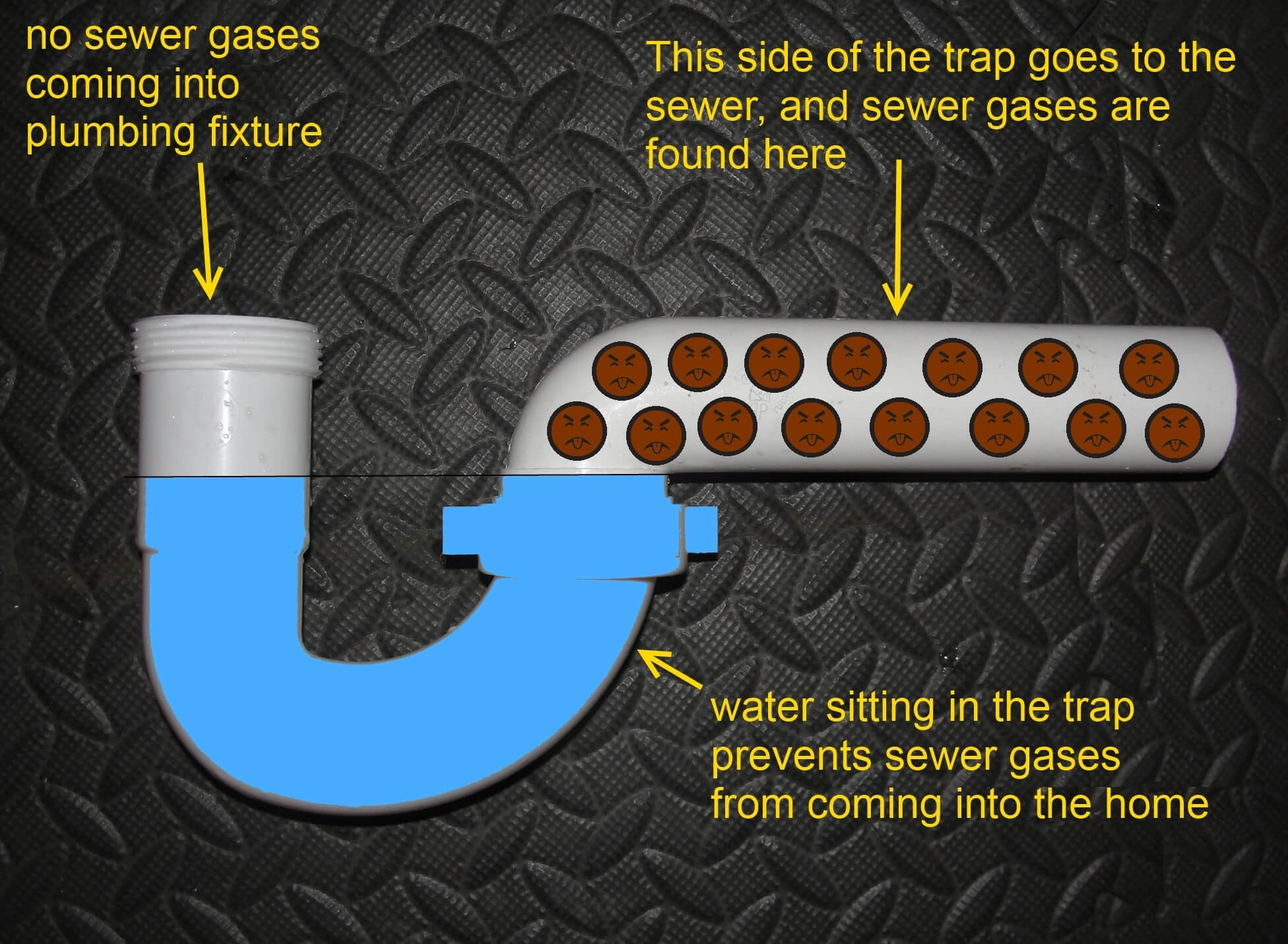 Plumbing Traps - Structure Tech Home Inspections