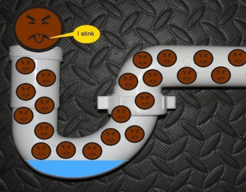 plumbing traps cover
