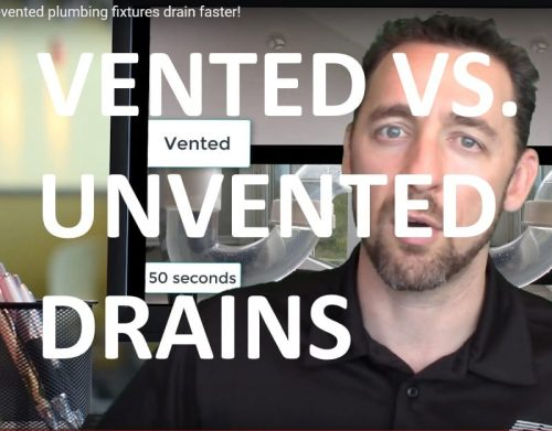 Vented vs Unvented Drains cover